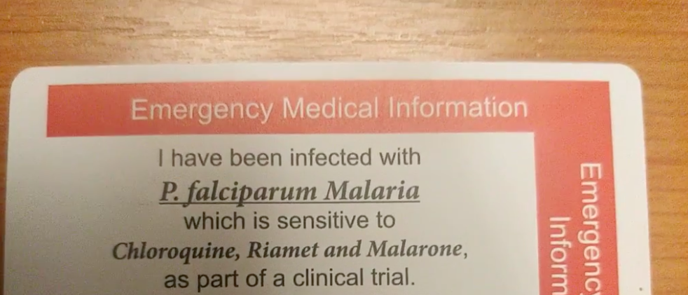 Эти волонтеры специально заболели малярией, чтобы мы знали, как ее лечить 1