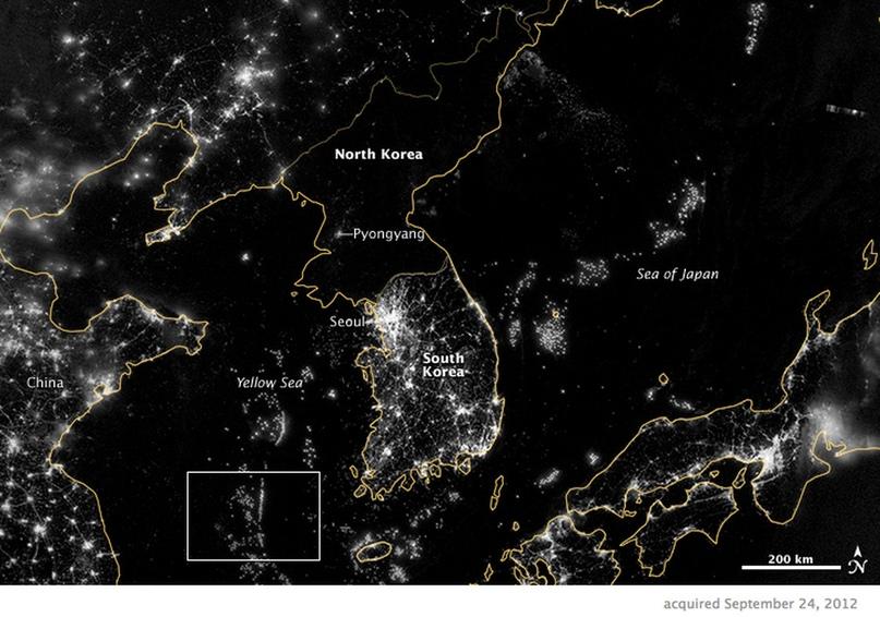Северная Корея в 40 картах 9
