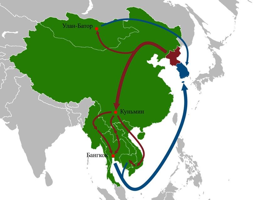 Северная Корея в 40 картах 15