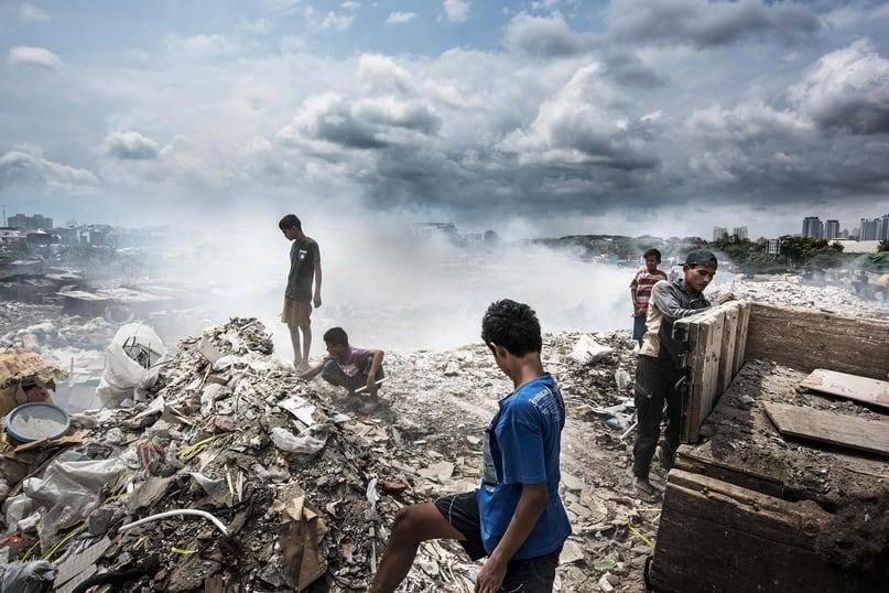 Утопающие в мусоре 3
