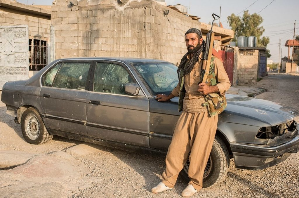 Как Безумный Макс из Ирака сражался с ИГ на бронированном BMW 3