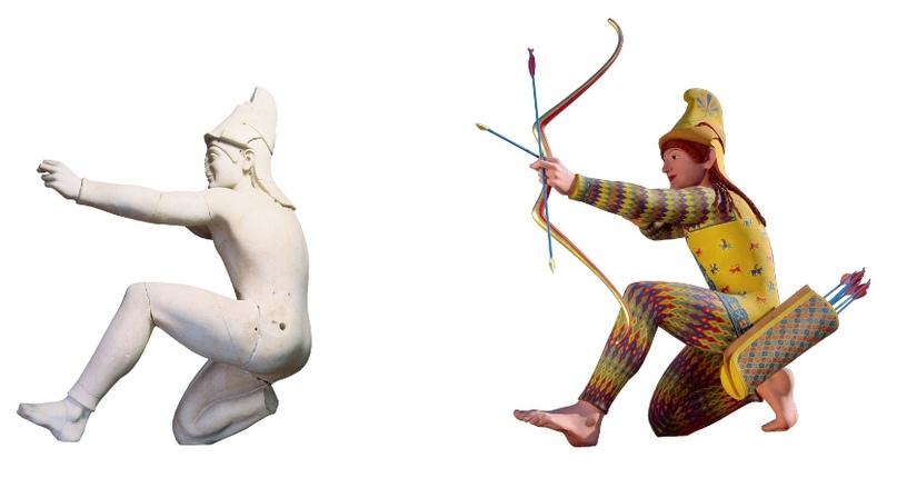 Миф о белизне античных скульптур 3