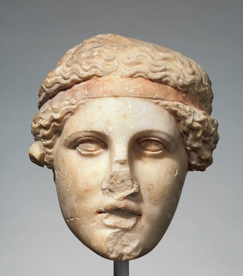 Миф о белизне античных скульптур 8