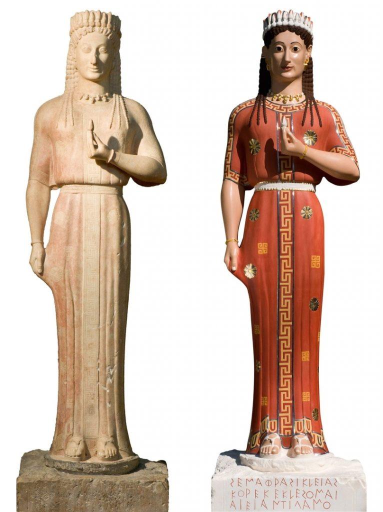 Миф о белизне античных скульптур 4