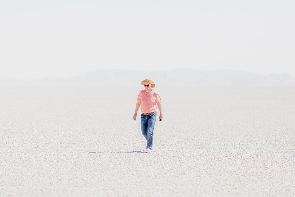 Лауреат Нобелевской премии по экономике на фестивале Burning Man 1
