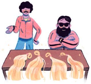 Восхождение и падение короля «девственных русских волос» 1